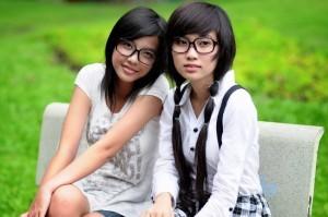 Längst hat sich die westliche Mode in China einen Platz verschafft. Chinessinnen wissen sich zu kleiden!