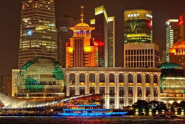 Chinesische Frauen in Shanghai